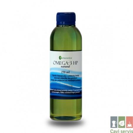 Omega-3 HP natural prírodný rybí olej 270ml
