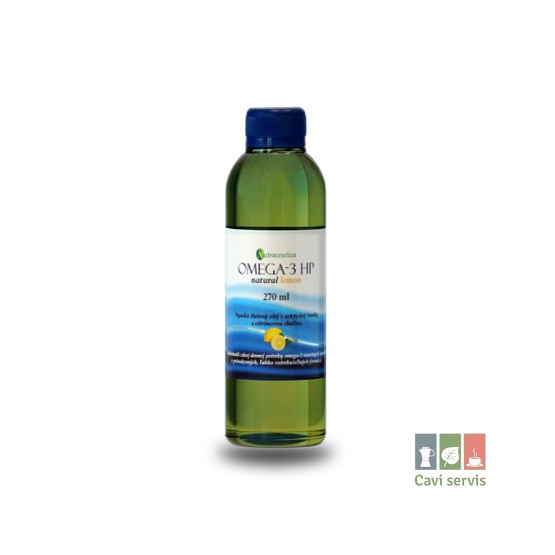 OMEGA-3 HP natural lemon rybí olej 270ml