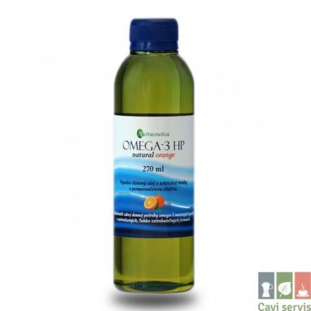 OMEGA-3 HP natural orange rybí olej 270ml